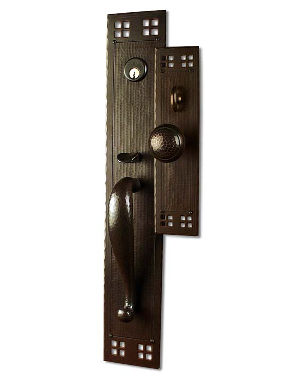 Arts And Crafts Entry Door Hardware Sets Craftsman Door