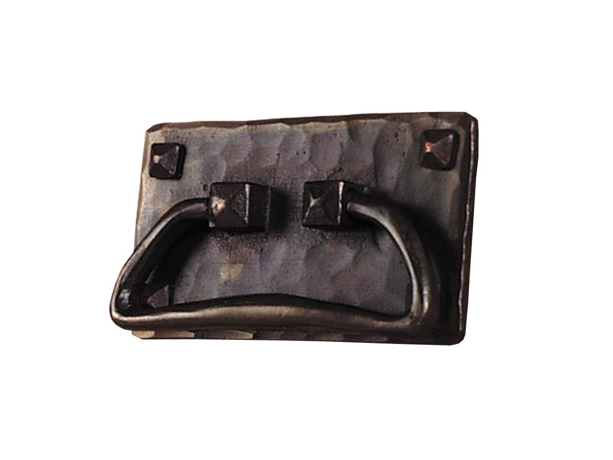 arts and crafts stickley onondaga reproduction style hand crafted hand hammered copper drawer pull hardware