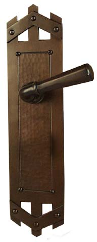 Arts And Crafts Style Hardware Craftsman Style Door