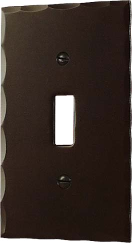 Arts and Crafts Electical Switch Cover Plate | Craftsman Electical Cover Plate | Mission Style Light Switch Cover