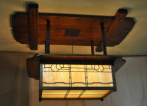 Arts and Crafts Lighting | Greene and Greene Light | Craftsman Style Light Fixtures | Mission Lighting