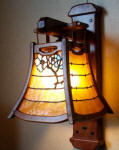 Arts and Crafts Wall Sconce | Craftsman Lighting | Greene and Greene Lighting | Mission Style Light Fixtures