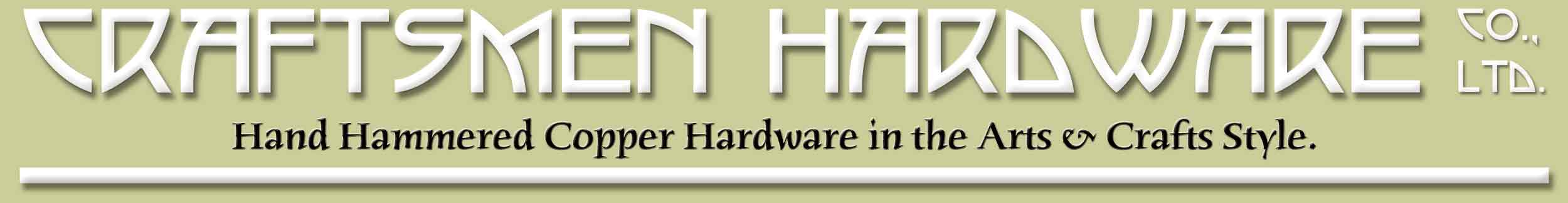 Craftsmen Hardware Company, LTD